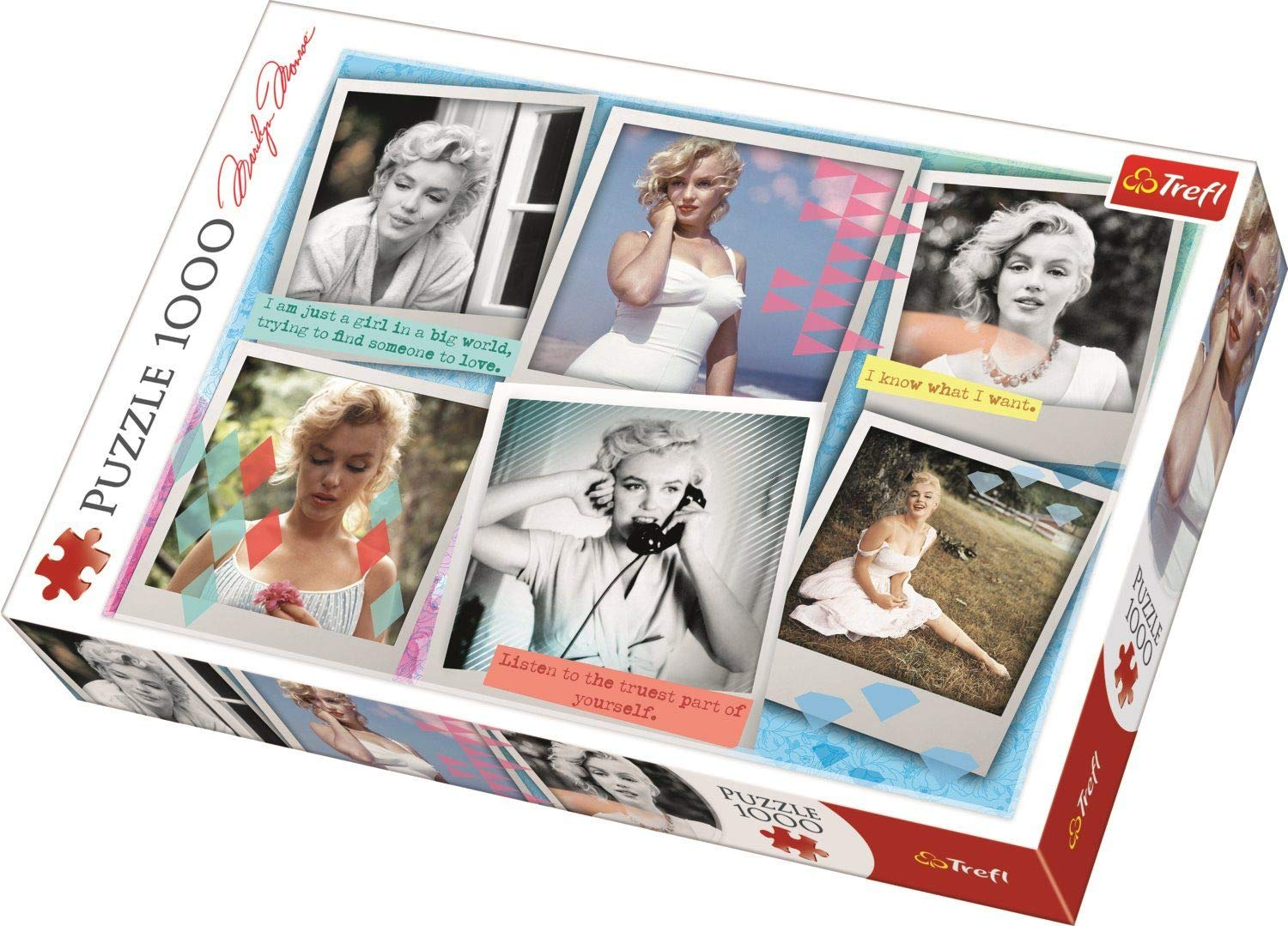 Puzzle 1000 piese - Marilyn Monroe thumbnail