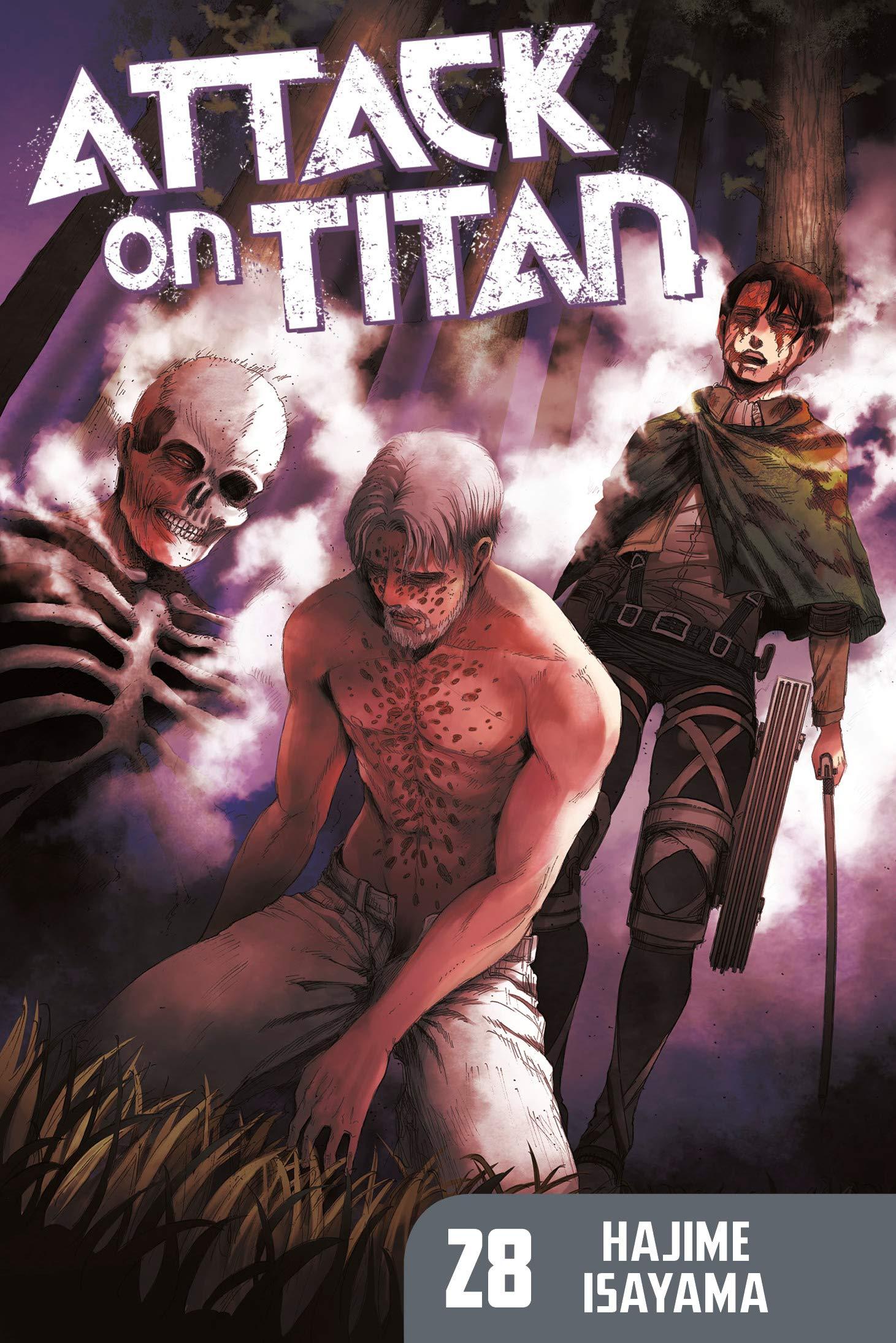Attack on Titan 28 thumbnail