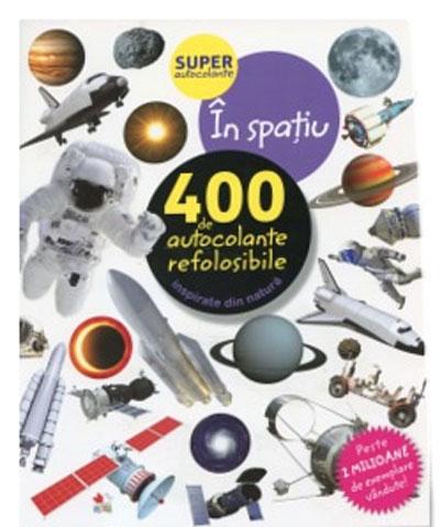 In Spatiu - 400 De Autocolante Refolosibile |