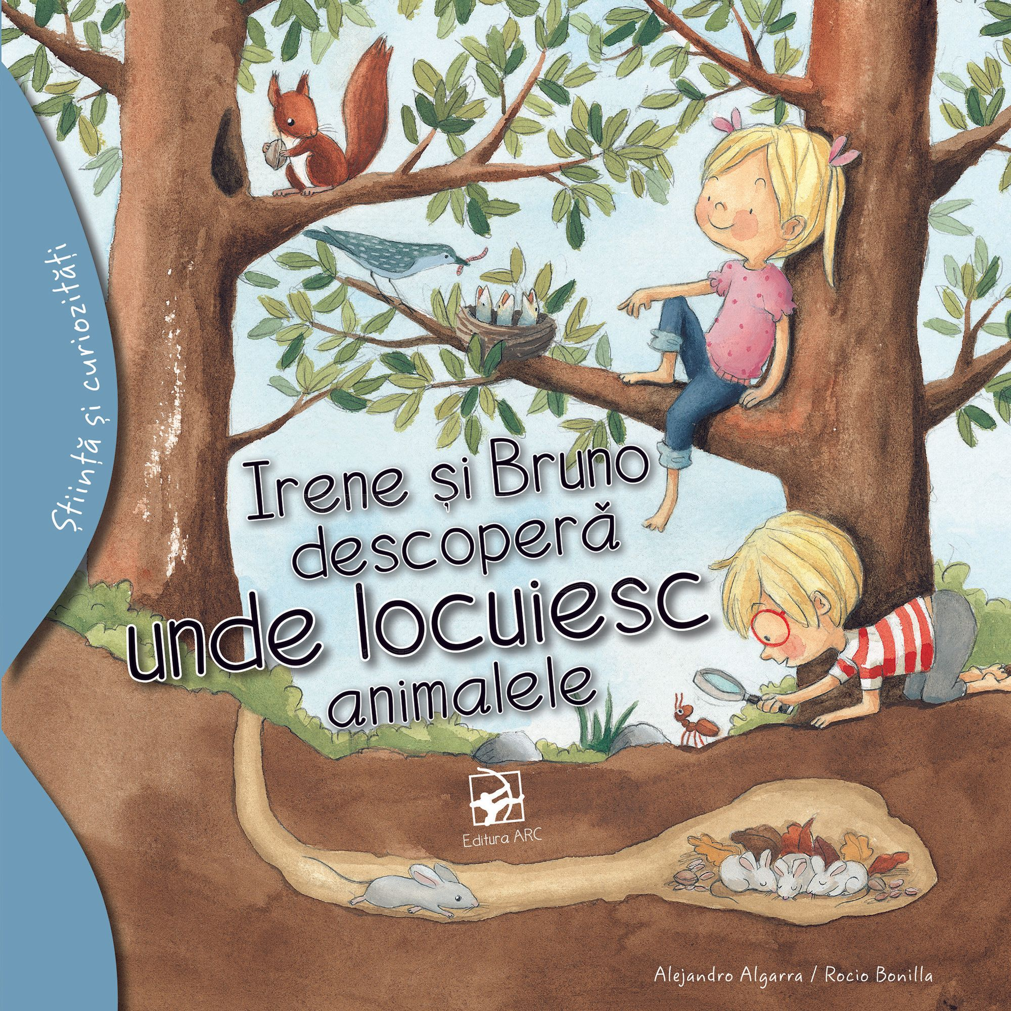 Imagine Irene Si Bruno Descopera Unde Locuiesc Animalele - Alejandro Algarra