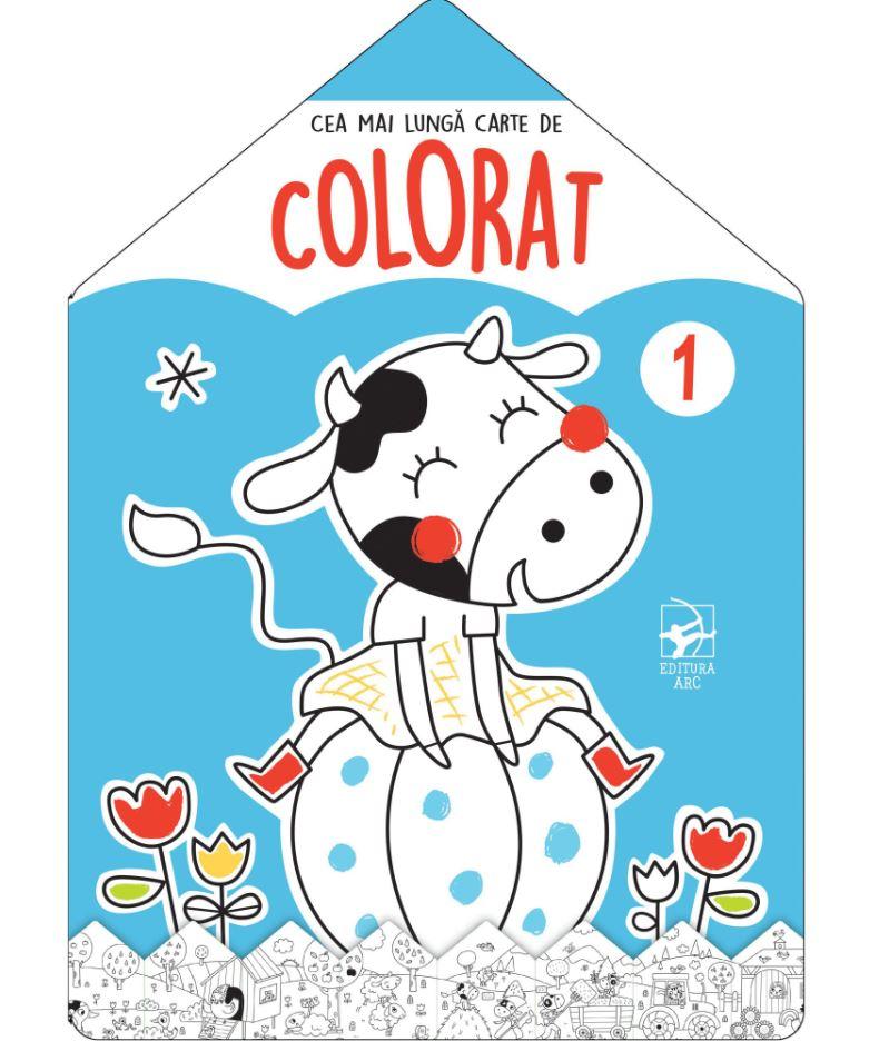 Cea Mai Lunga Carte De Colorat - Nr. 1 |