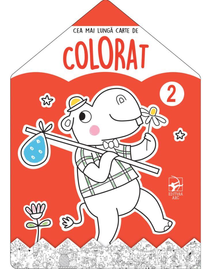 Cea Mai Lunga Carte De Colorat - Nr. 2 |
