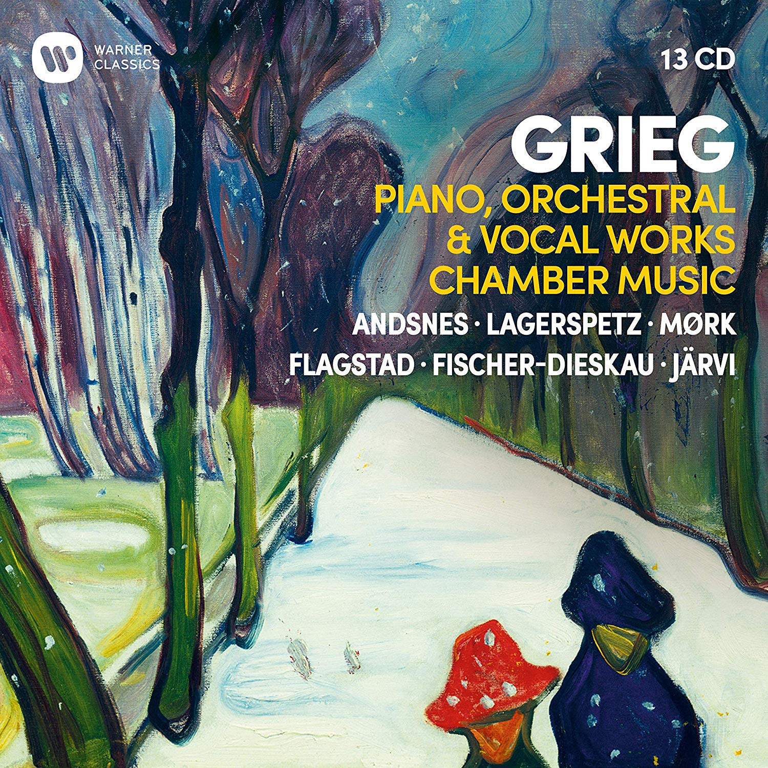 Grieg - Piano, Orchestral & Vocal Works, Chamber Music thumbnail