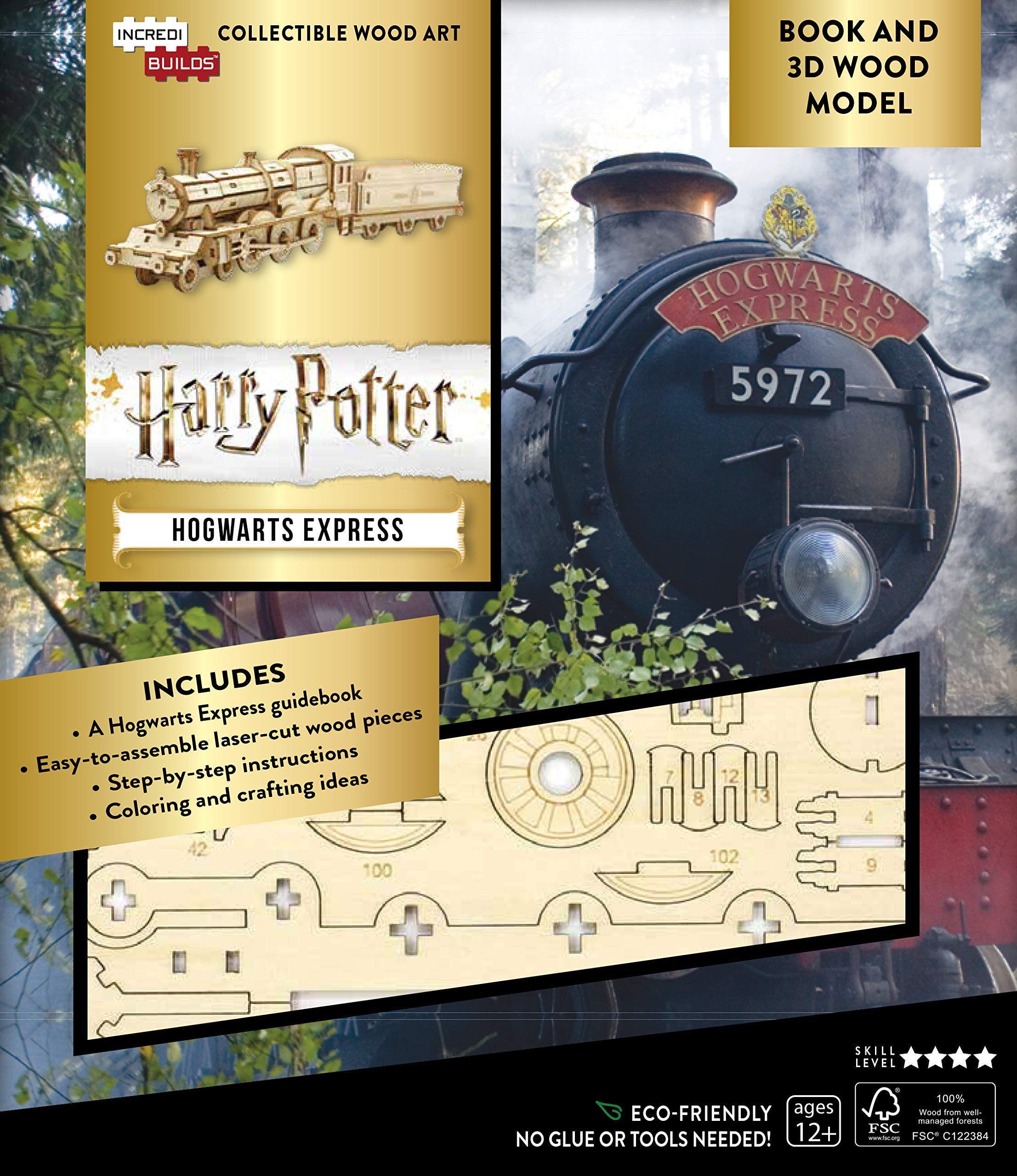 Macheta 3D - Harry Potter: Hogwarts Express Book and 3D Wood Model | Insight Editions