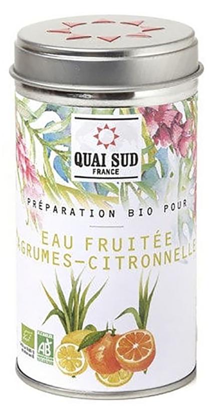 Arome de fructe - Preparation Bio pour eau fruitee agrumes citronnelle thumbnail