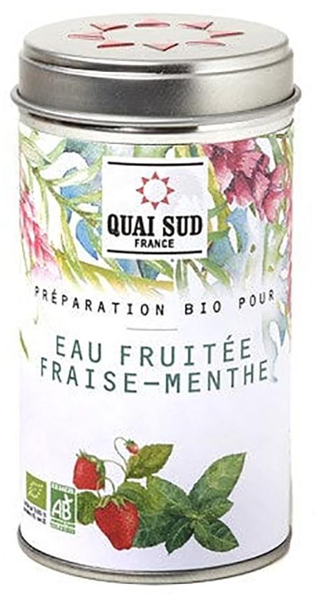 Arome de fructe - Preparation bio pour eau fruitee fraise menthe thumbnail