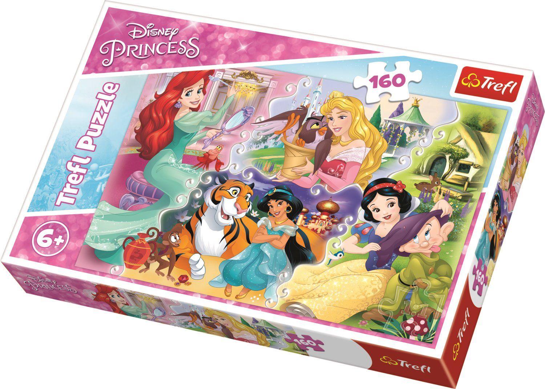 Puzzle 160 piese - Printese cu prieteni | Trefl