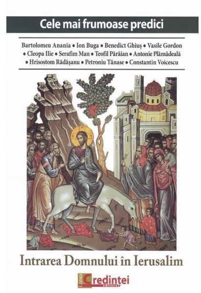 Imagine Intrarea Domnului In Ierusalim -