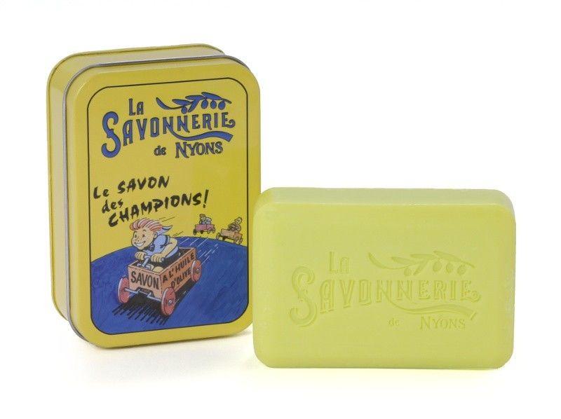 Sapun in cutie metalica, 200 g - Le Savon des Champions thumbnail