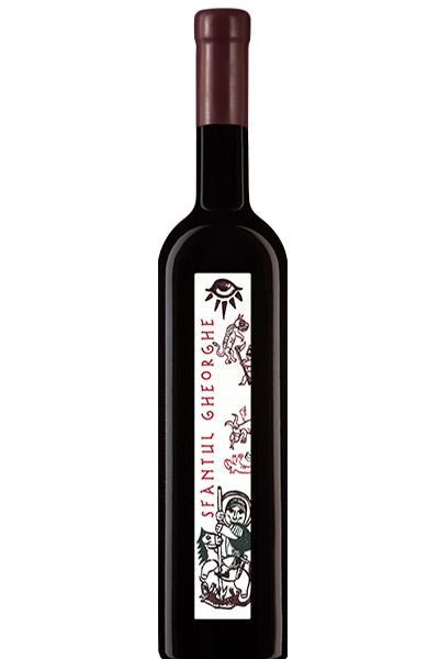 Vin rosu - Cupola Sanctis - Sfantul Gheorghe, cupaj rosu, 2013, sec Crama Oprisor