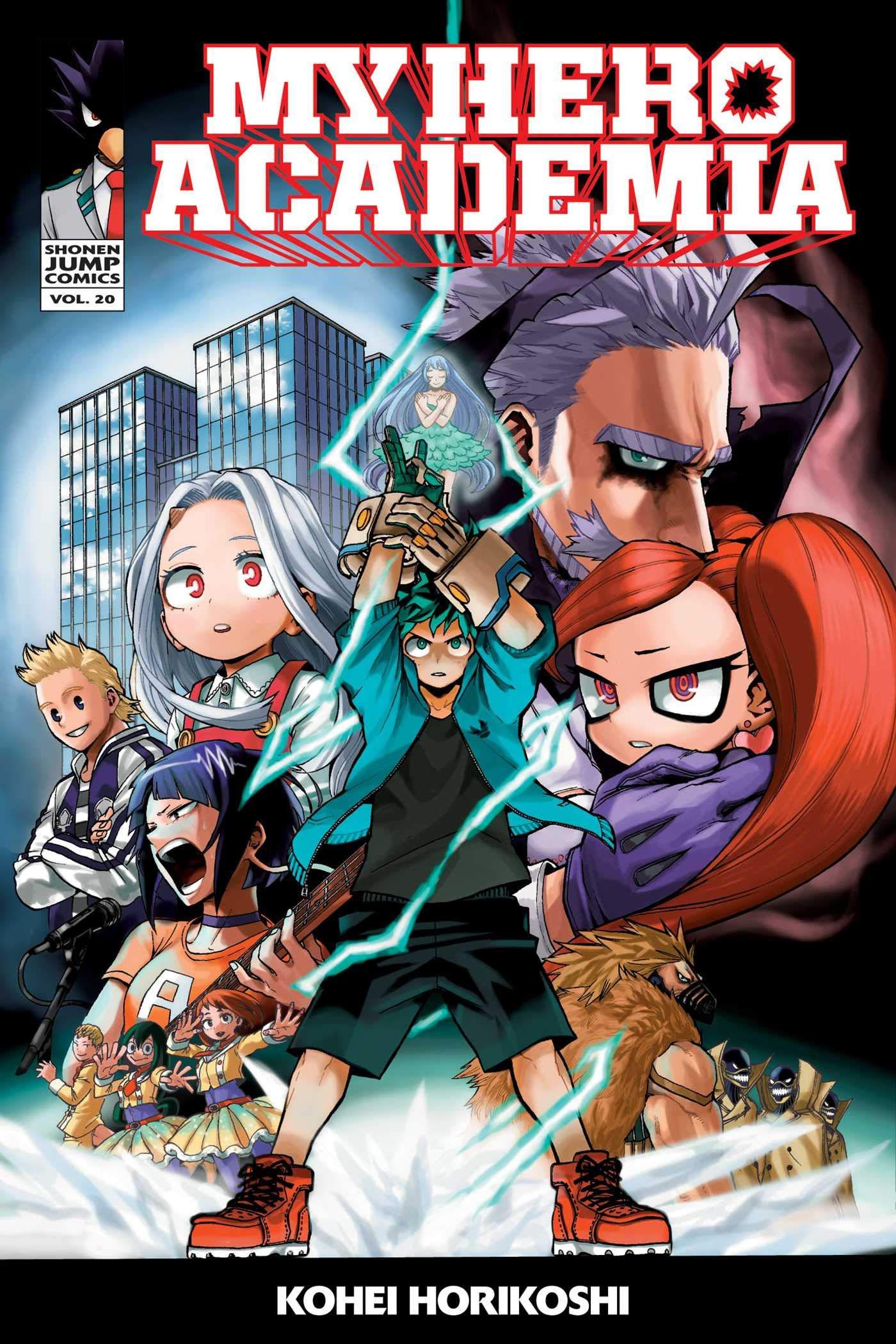 My Hero Academia, Vol. 20 thumbnail