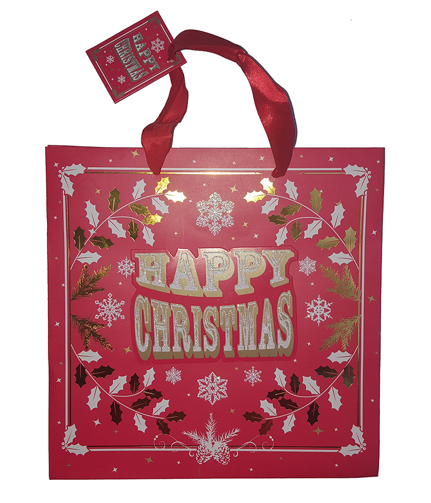 Punga pentru cadou - Happy Christmas