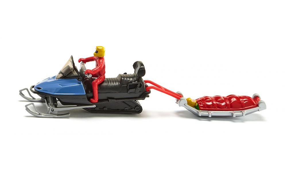 Jucarie - Snow Mobile with Rescue Sledge | Siku