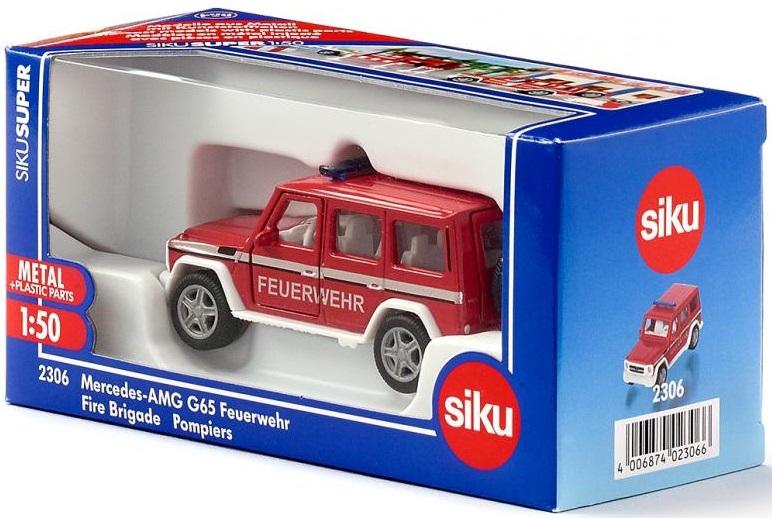 Masinuta - Mercedes G65 Pompieri | Siku - 3