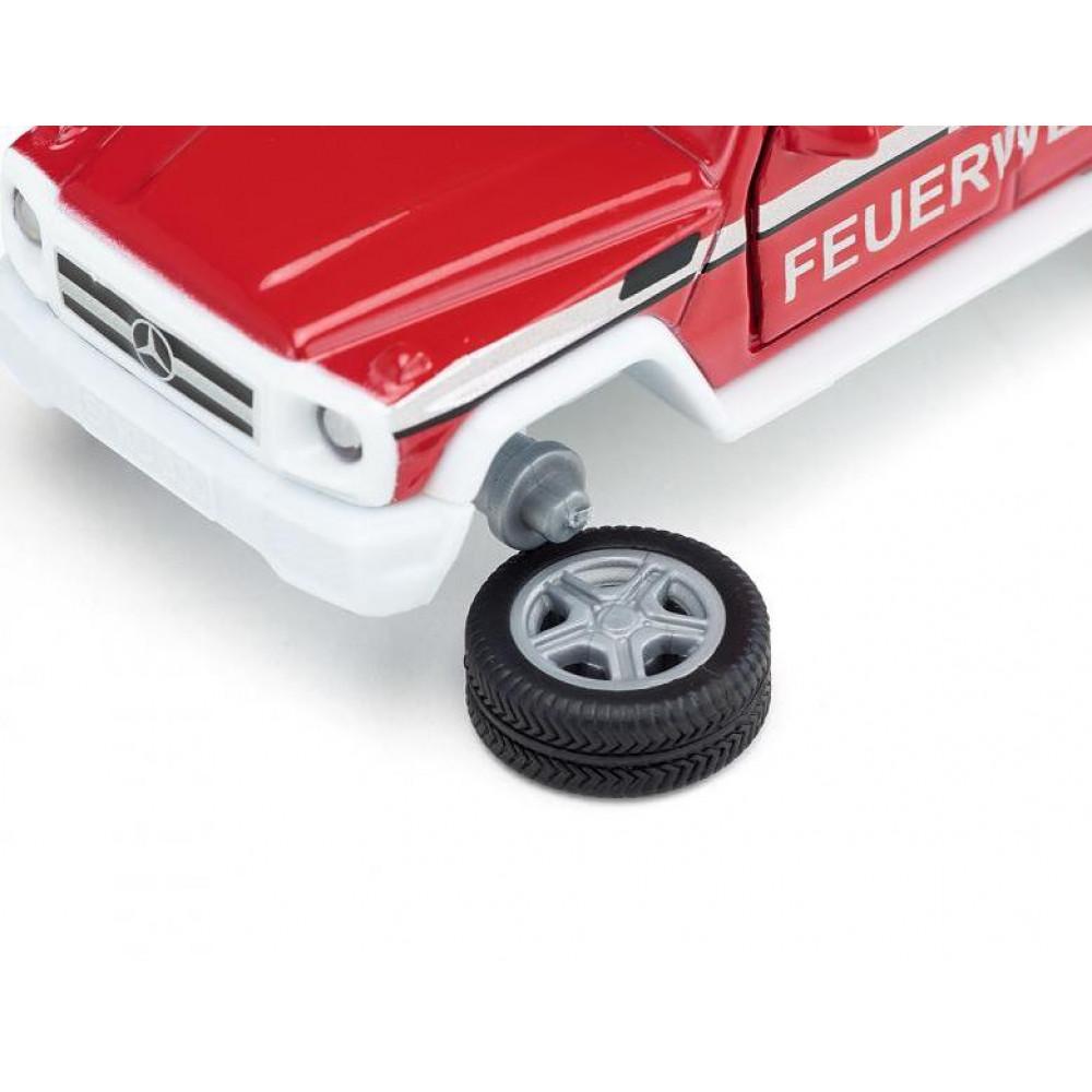 Masinuta - Mercedes G65 Pompieri | Siku - 1