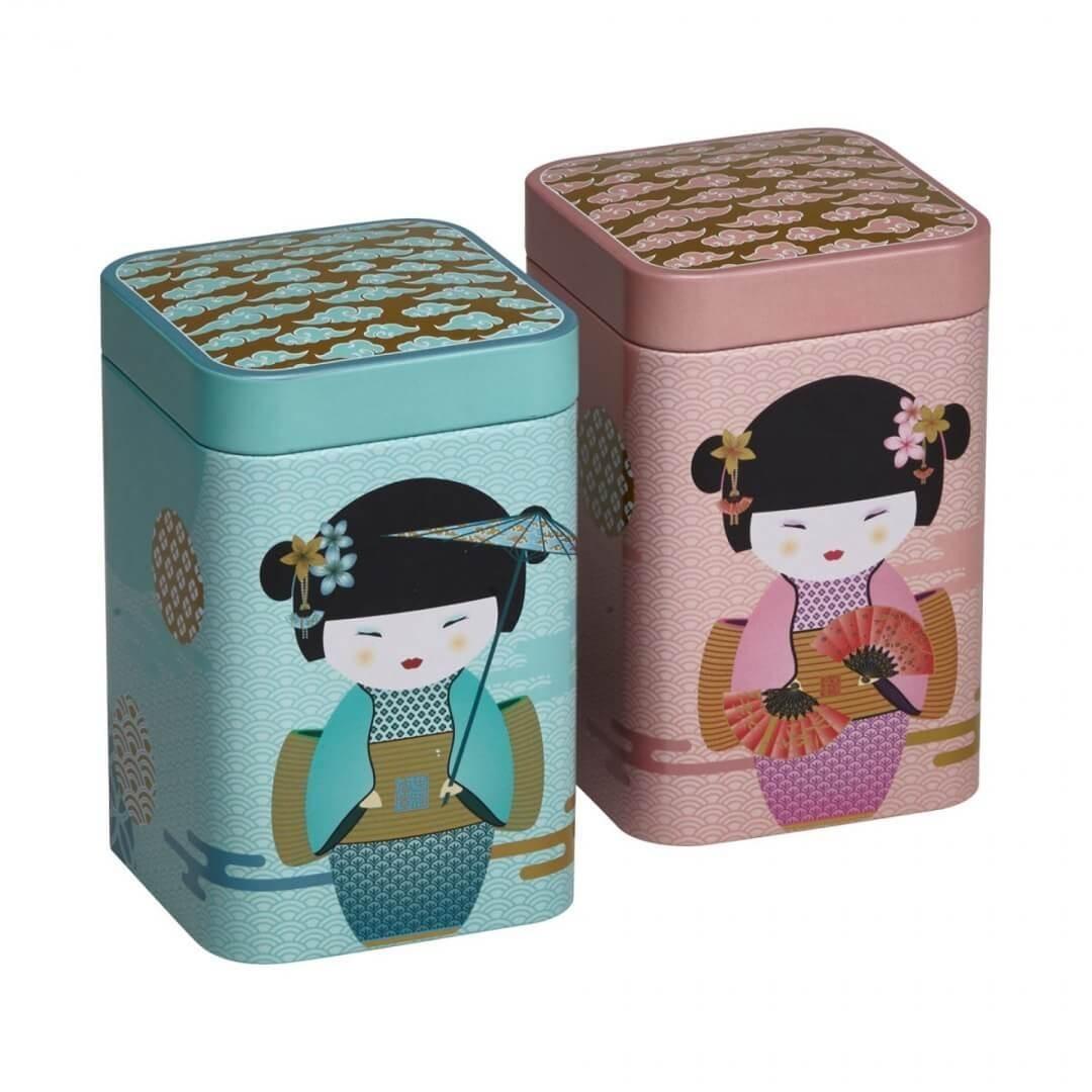 Cutie pentru ceai - New Little Geisha Rose thumbnail