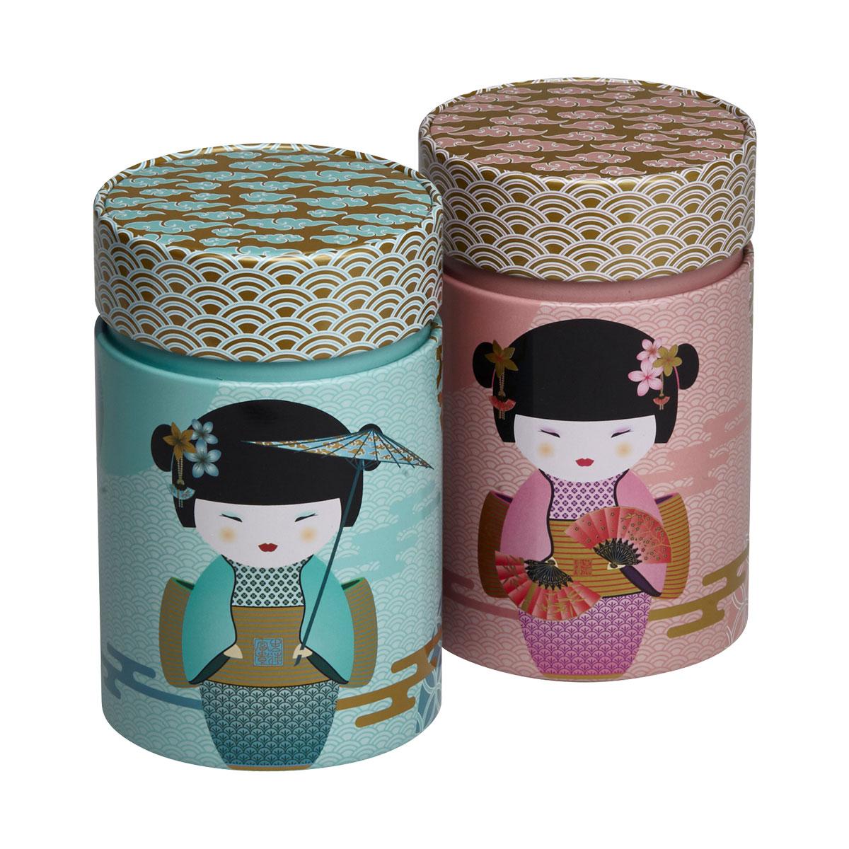 Cutie din metal - Geisha - doua modele thumbnail