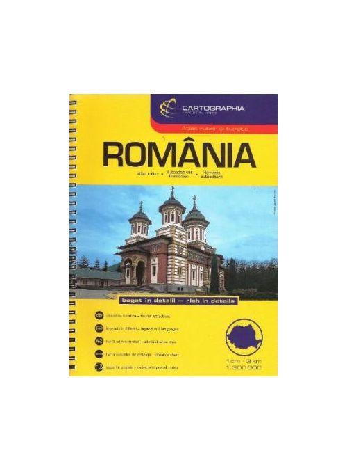 Romania Atlas Rutier / Romania Road Atlas