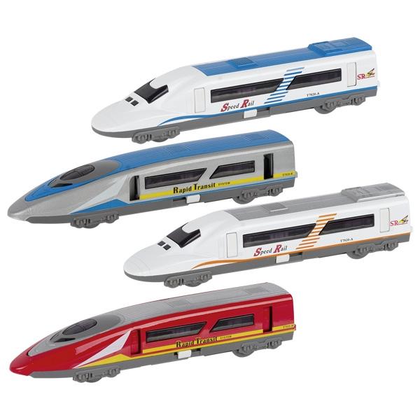 Trenulet de mare viteza cu lumina si sunet - mai multe modele | Goki