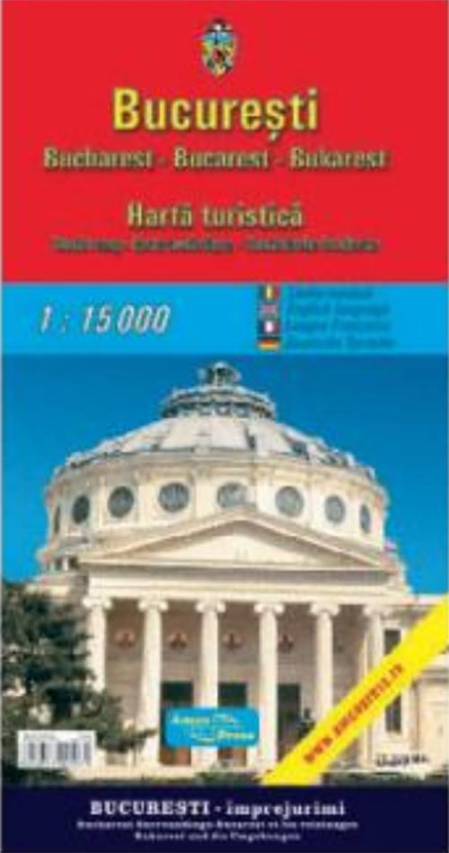 Harta turistica - Bucuresti