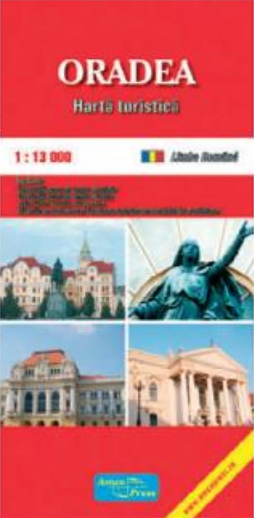Harta turistica - Oradea