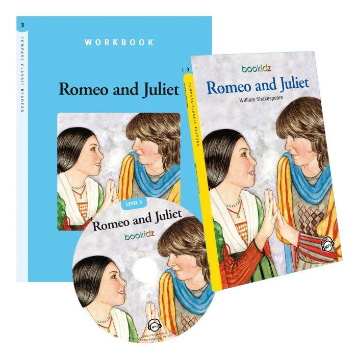 Caiete de lucru - Romeo and Juliet, William Shakespeare, Compass Classic Readers, Nivelul 3