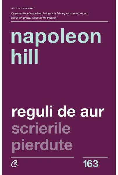 Imagine Reguli De Aur - Napoleon Hill