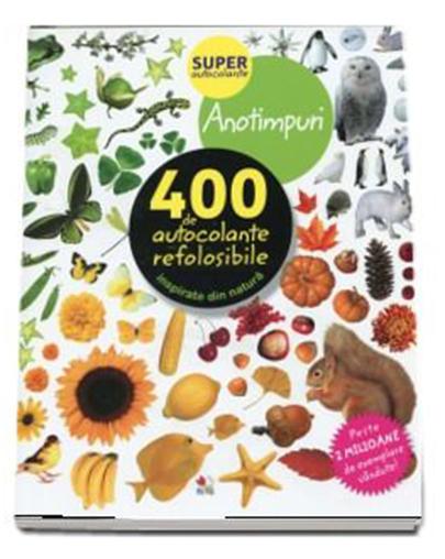 Anotimpuri - 400 De Autocolante Refolosibile, Inspirate Din Natura |