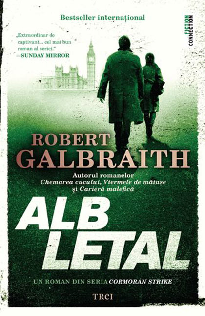 Imagine Alb Letal - Robert Galbraith