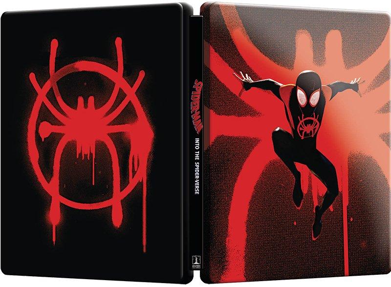 Omul-Paianjen: In lumea paianjenului / Spider-Man: Into the Spider-Verse (Blu Ray Disc + DVD, Best Buy Steelbook editie limitata) thumbnail