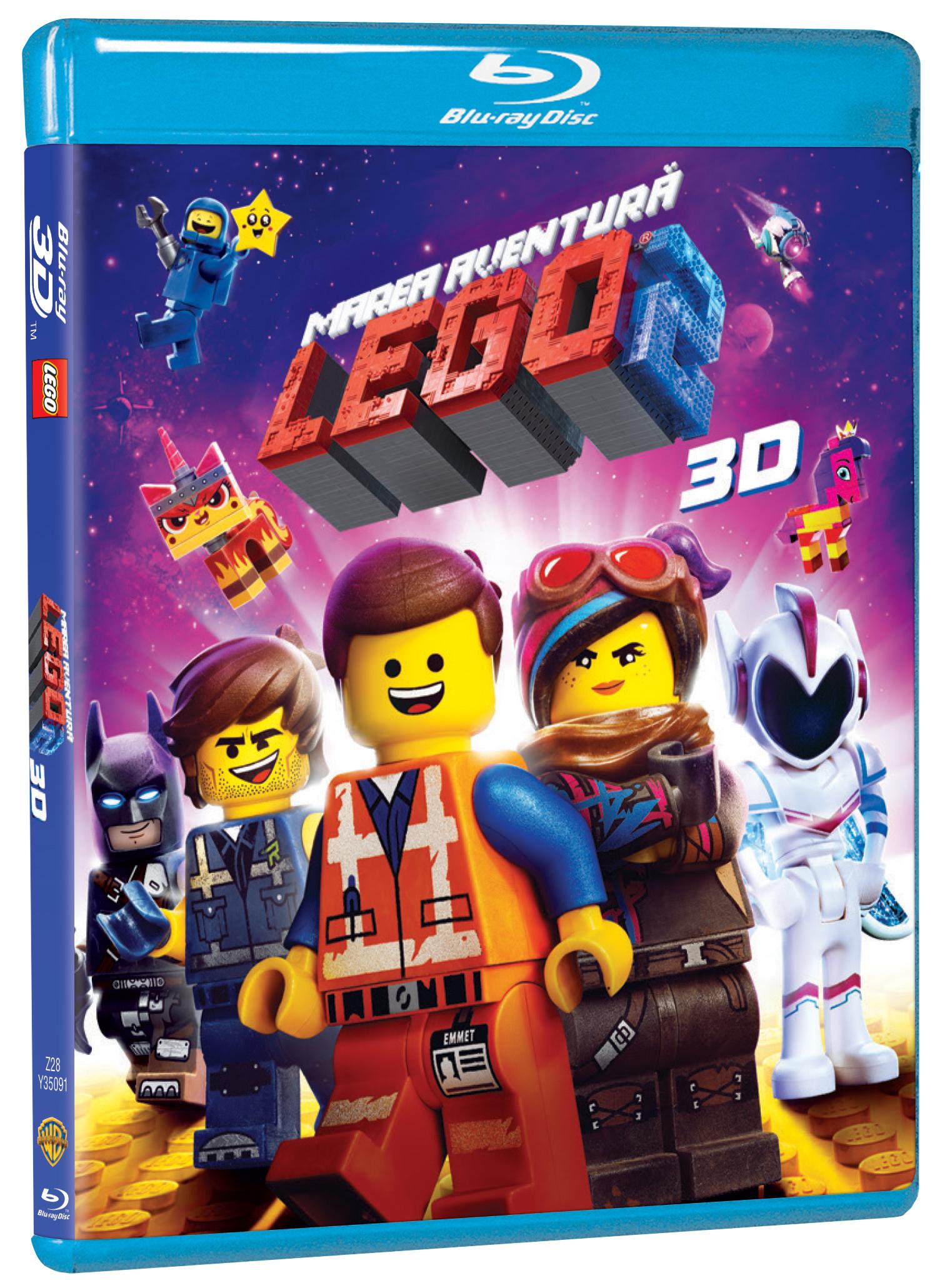 Marea aventura lego 2 / The Lego Movie 2 (Blu-Ray Disc 3D)
