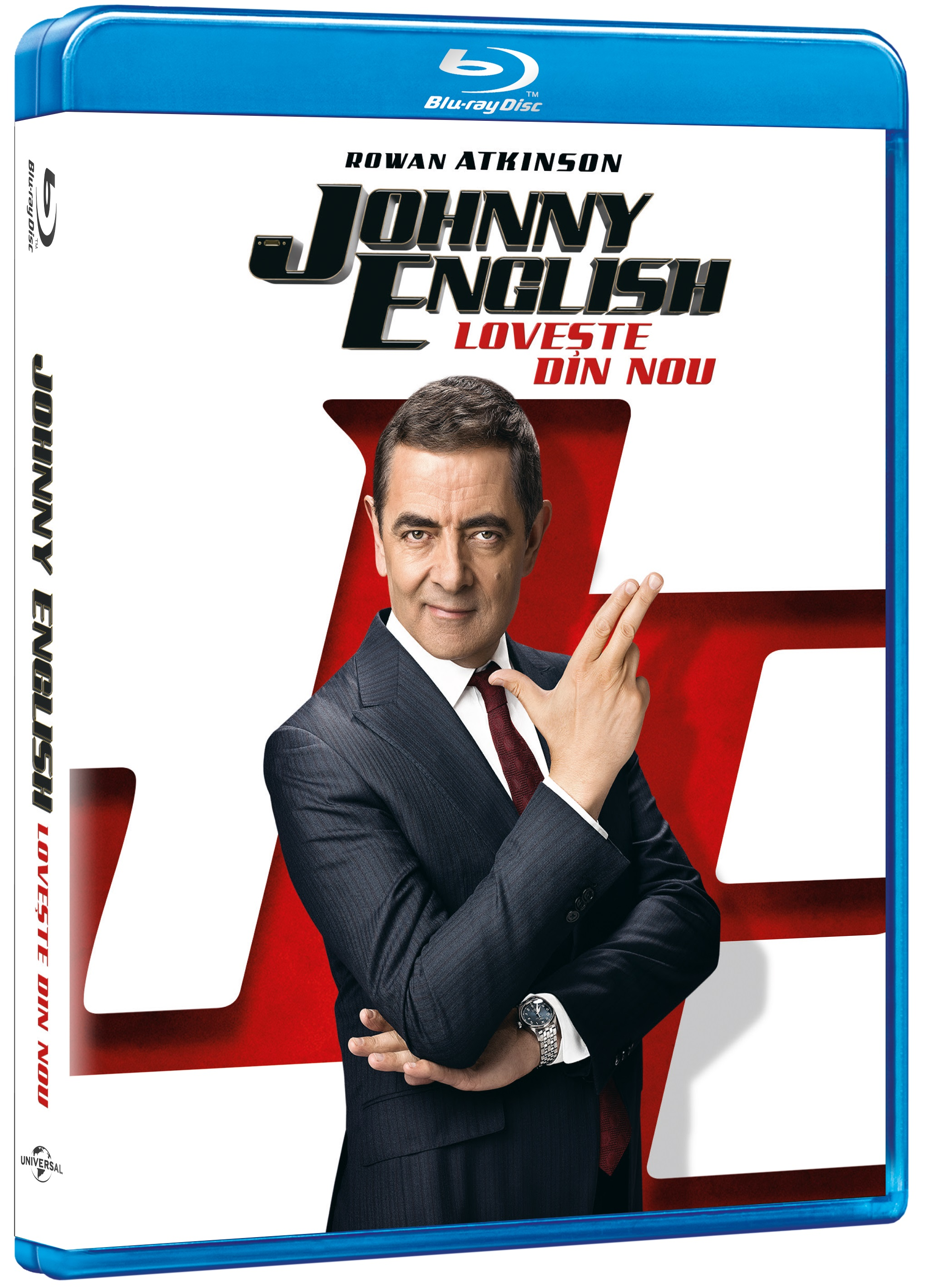 Johnny English loveste din nou / Johnny English Strikes Again (Blu-Ray Disc) thumbnail