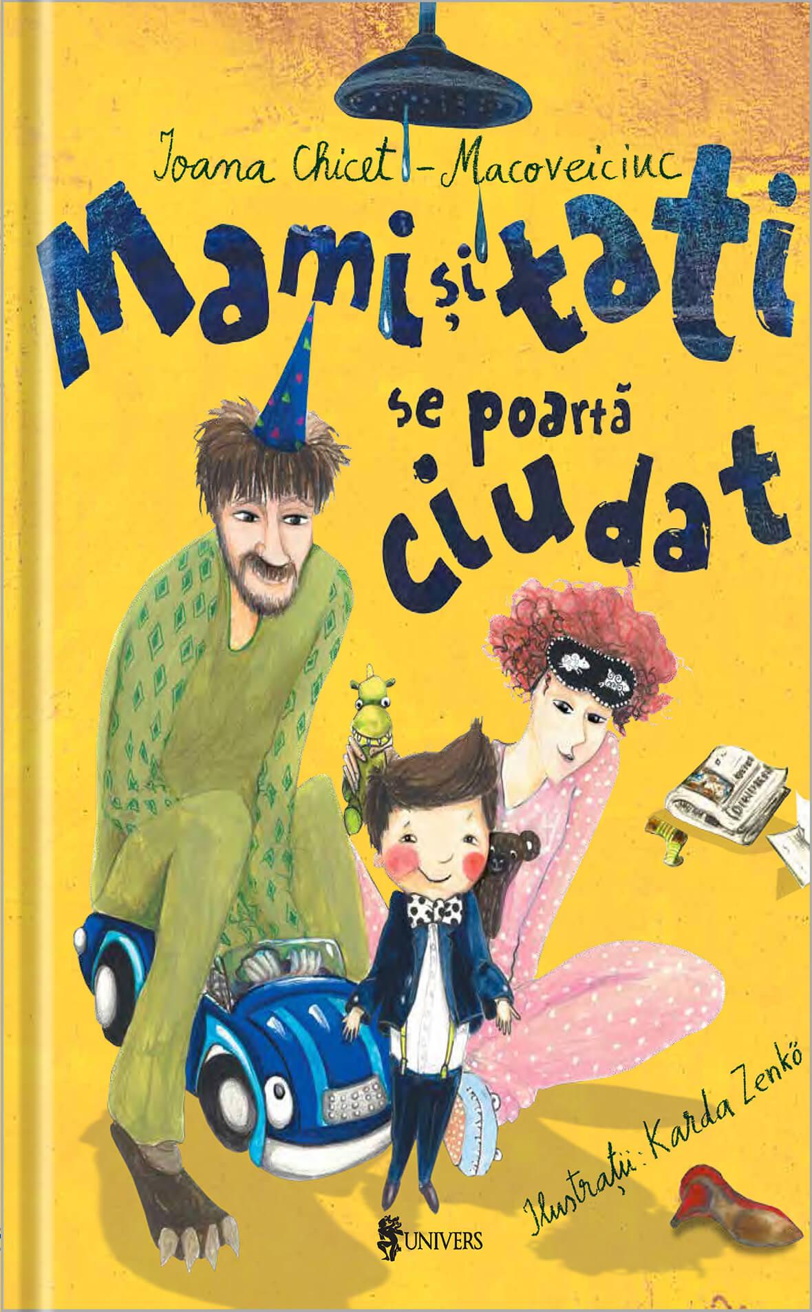 Mami si tati se poarta ciudat | Ioana Chicet-Macoveiciuc