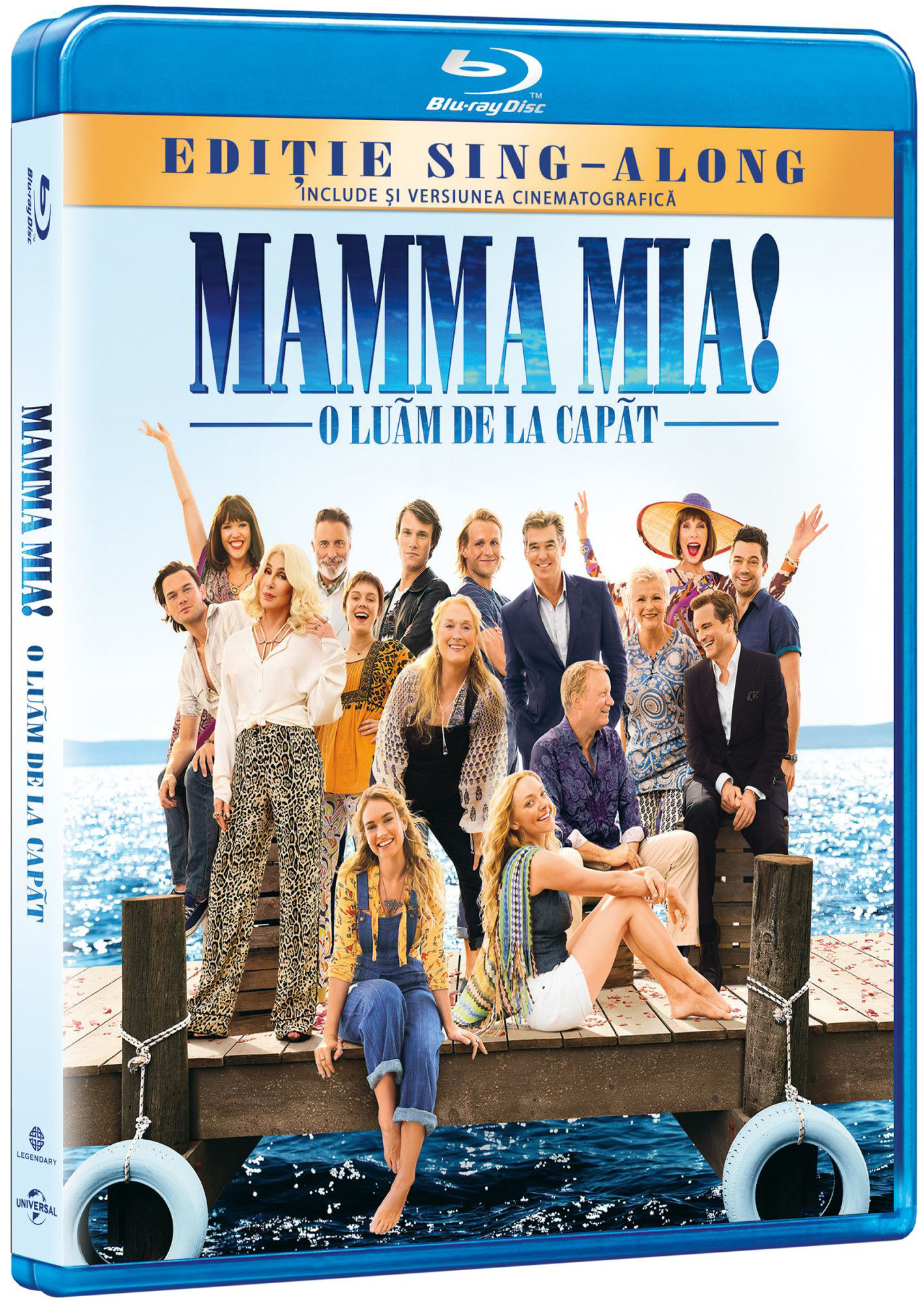 Mamma Mia! 2 - O Luam De La Capat / Mamma Mia! 2 - Here We Go Again (Blu Ray Disc) thumbnail