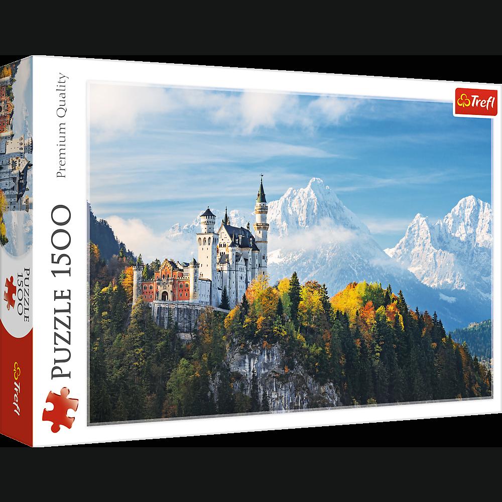 Puzzle 1500 piese - Alpii Bavarezi | Trefl
