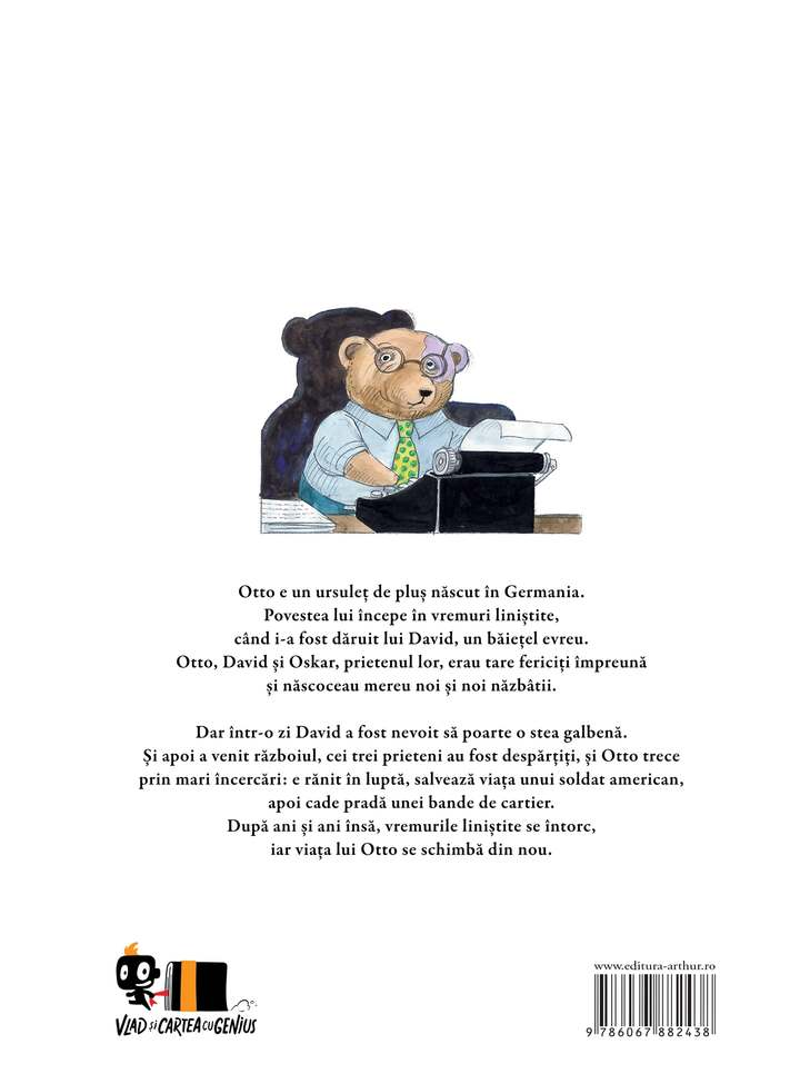 Otto. Autobiografia Unui Ursulet De Plus | Tomi Ungerer