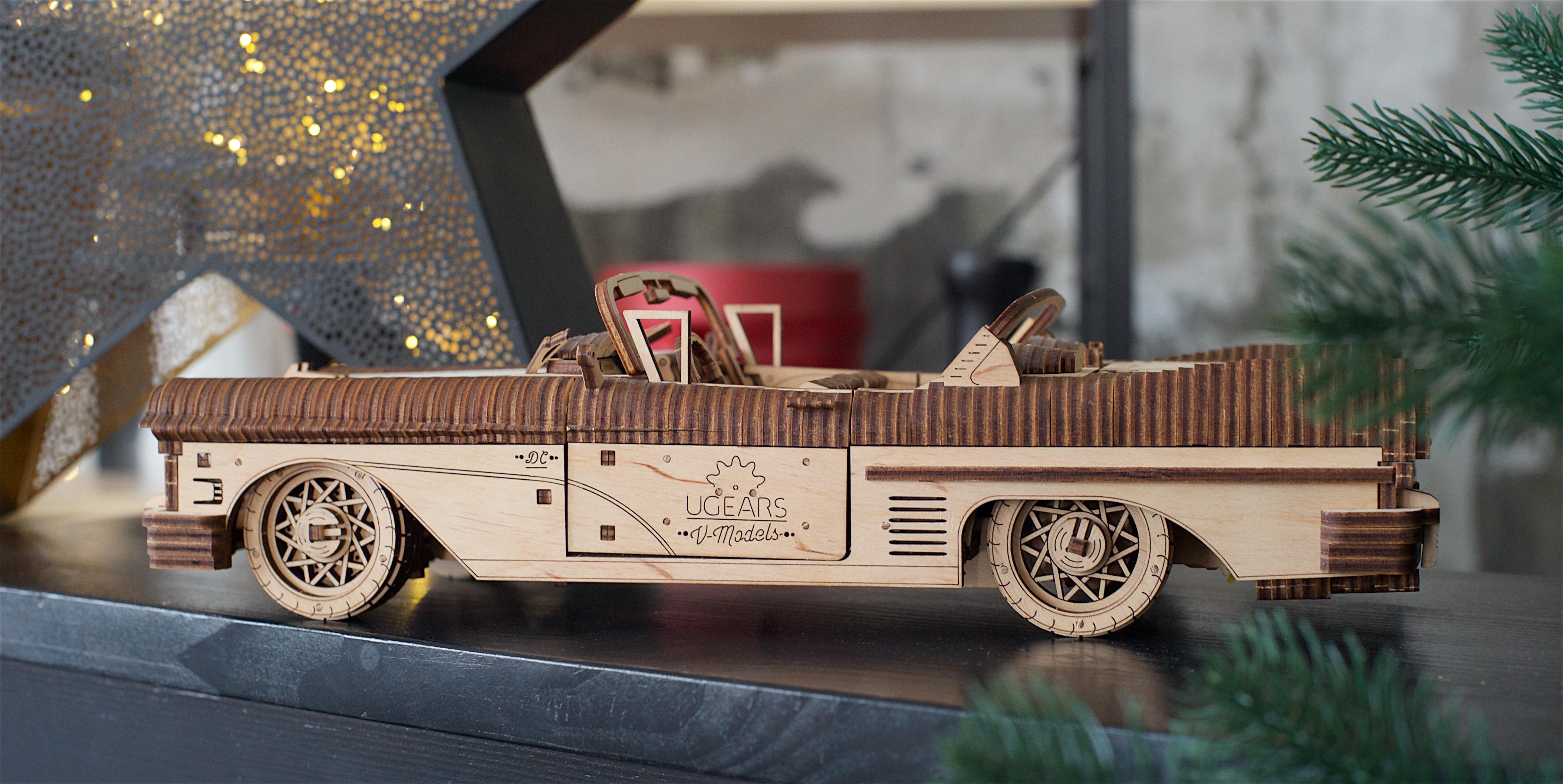 Puzzle Mecanic - Dream Cabriolet VM-05 | Ugears
