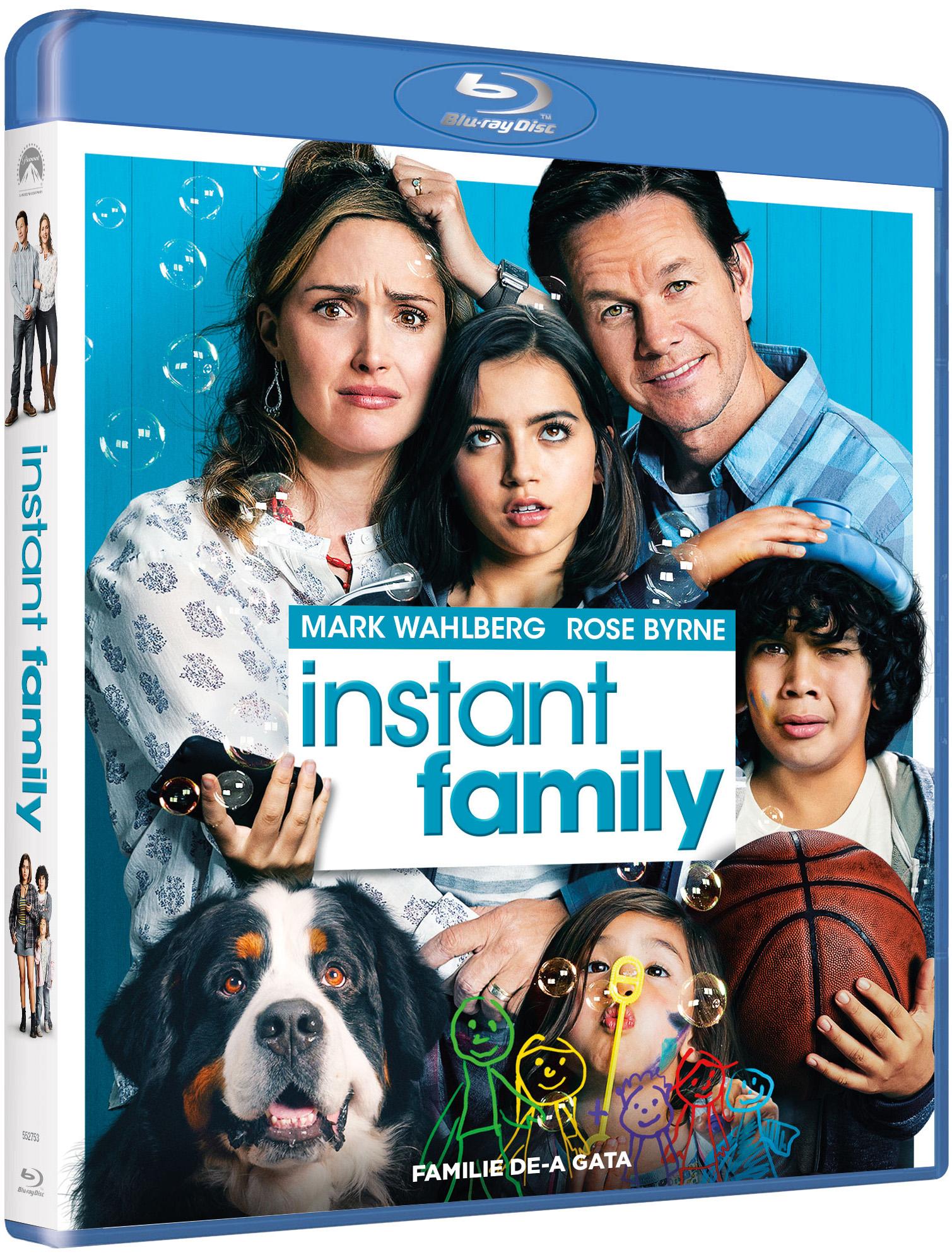 Familie de-a gata / Instant Family (Blu-Ray Disc) thumbnail