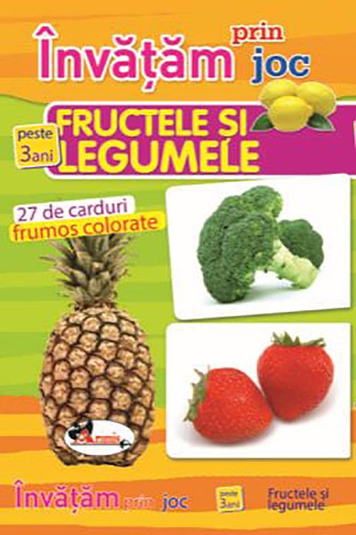 Invatam Prin Joc: Fructele Si Legumele |