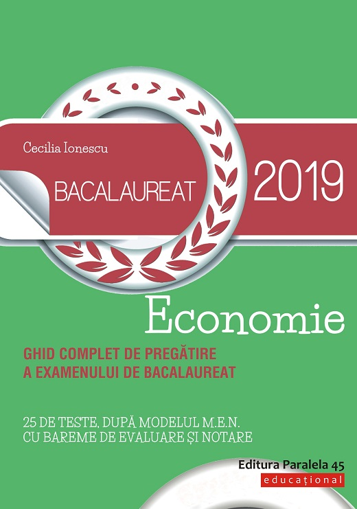 Bacalaureat 2019. Economie | Cecilia Ionescu