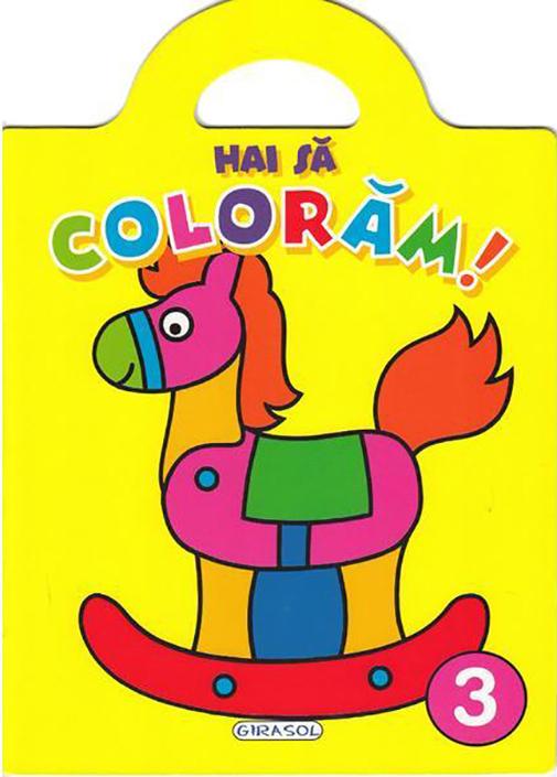 Imagine Hai Sa Coloram! Volumul 3 - Jordi Busquets