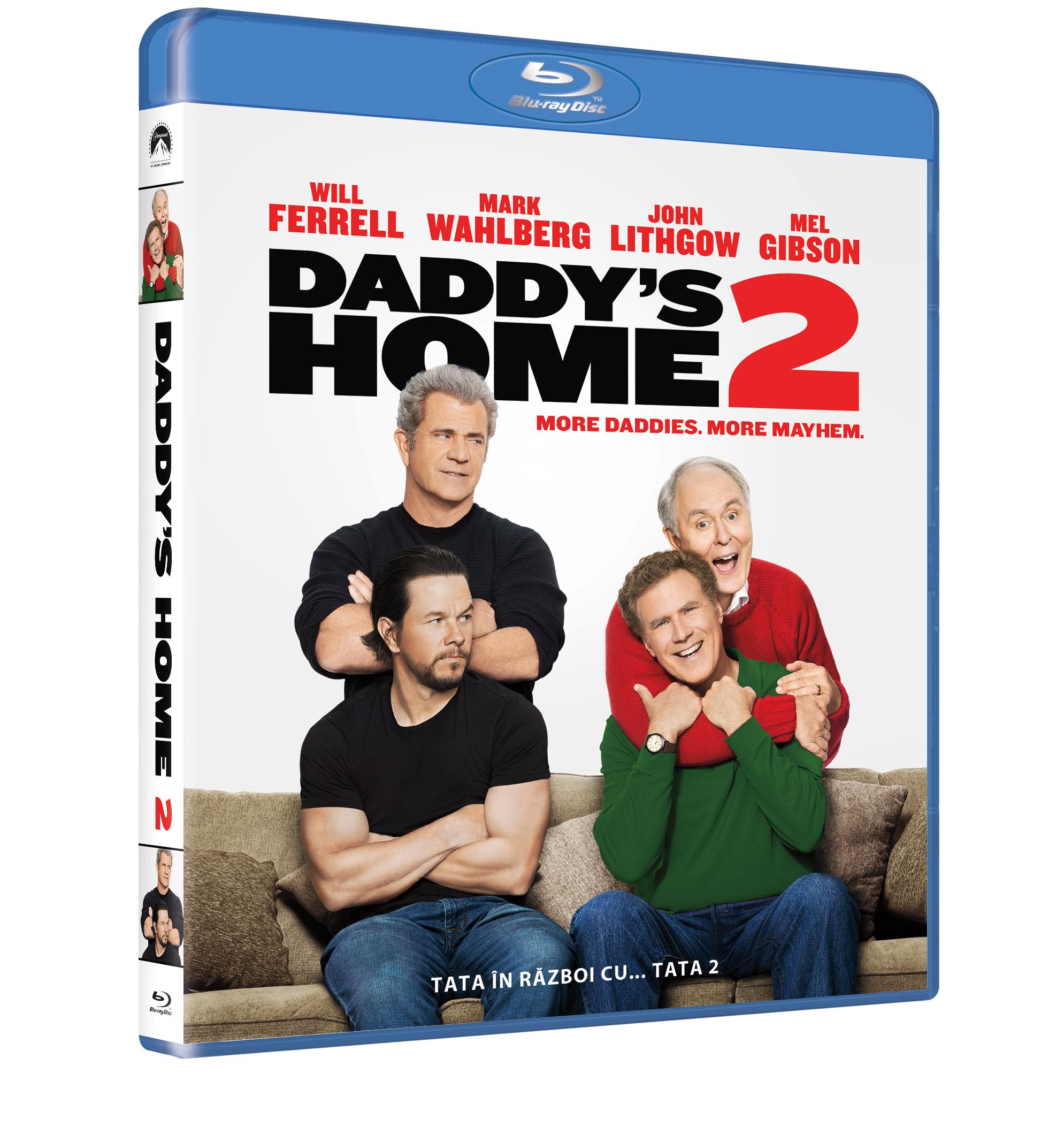 Tata in razboi cu... tata 2 (Blu Ray Disc) / Daddy's Home 2