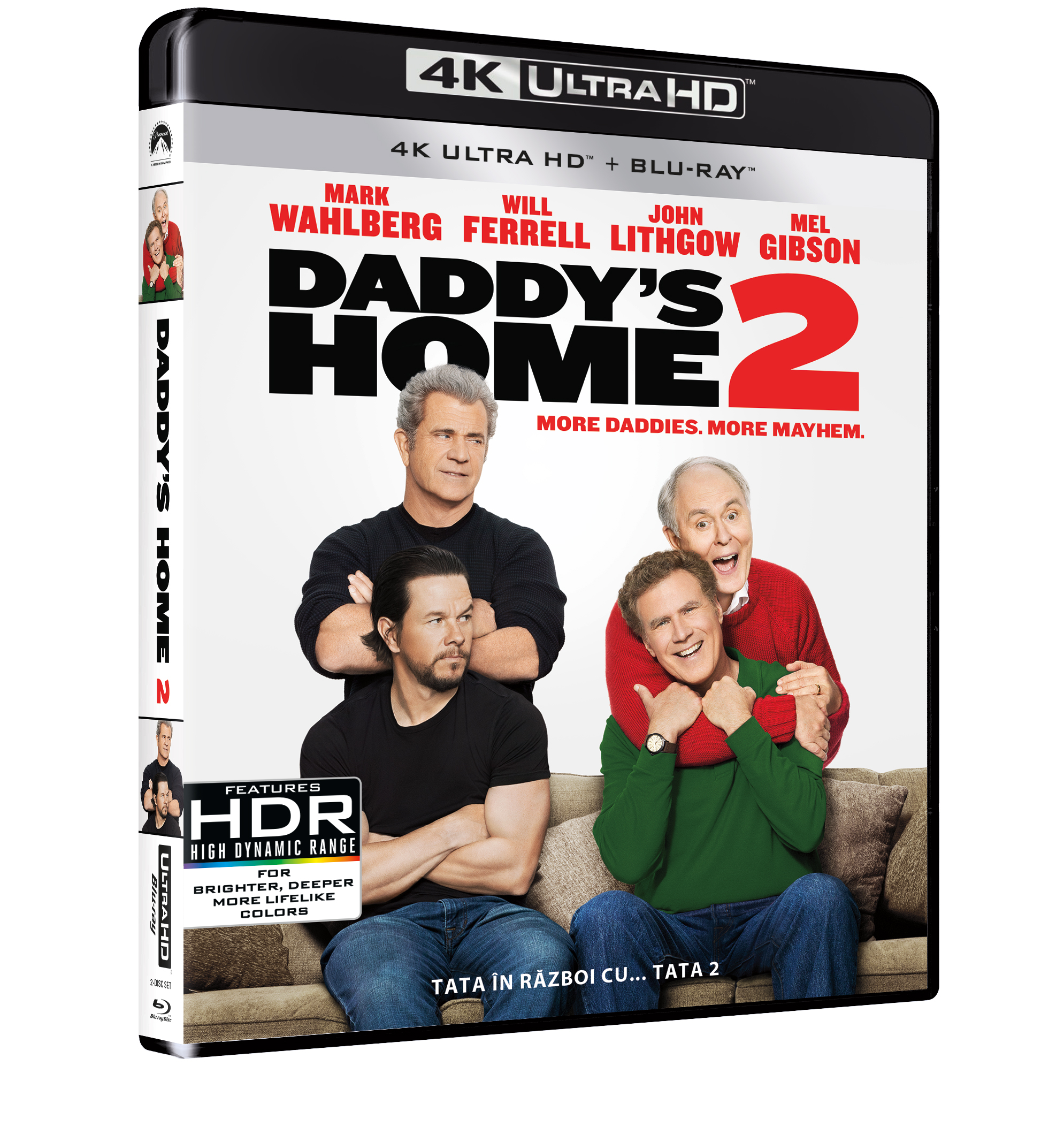 Tata in razboi cu... tata 2 (Blu Ray Disc) UHD / Daddy's Home 2