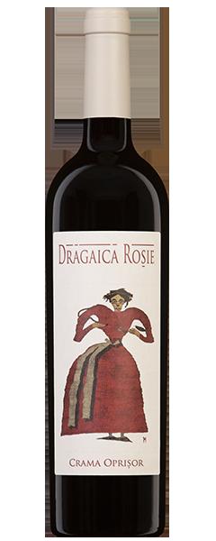 Vin rosu - Dragaica Rosie, 2015, sec Crama Oprisor