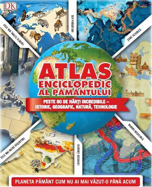 Imagine Atlas Enciclopedic Al Pamantului -