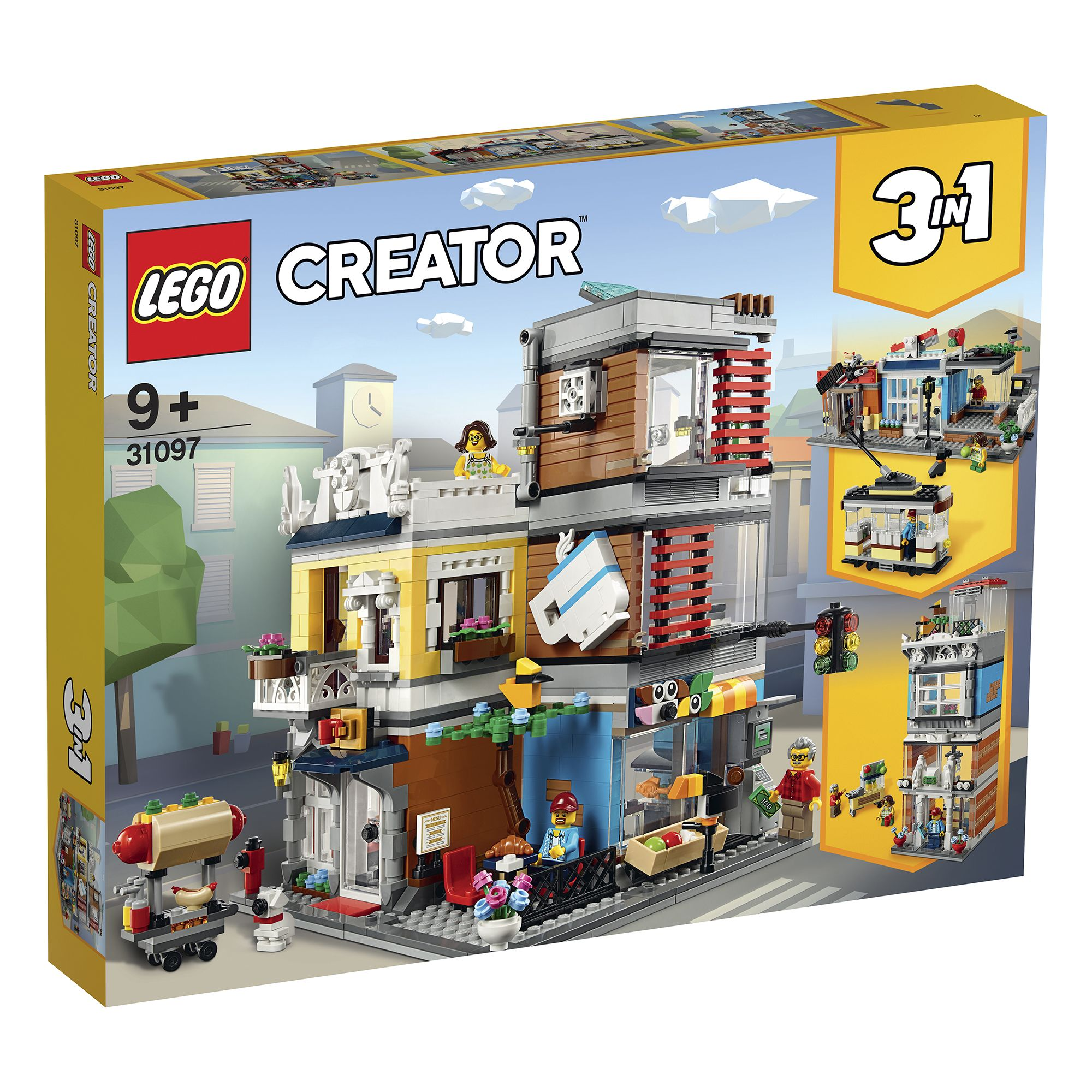 Magazin de animale si cafenea (31097) | LEGO