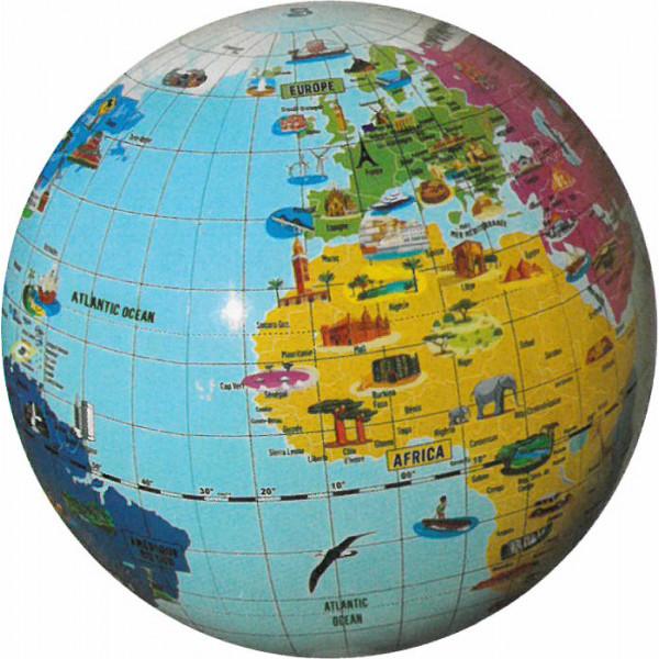 Glob pamantesc gonflabil - Minunile lumii | Caly