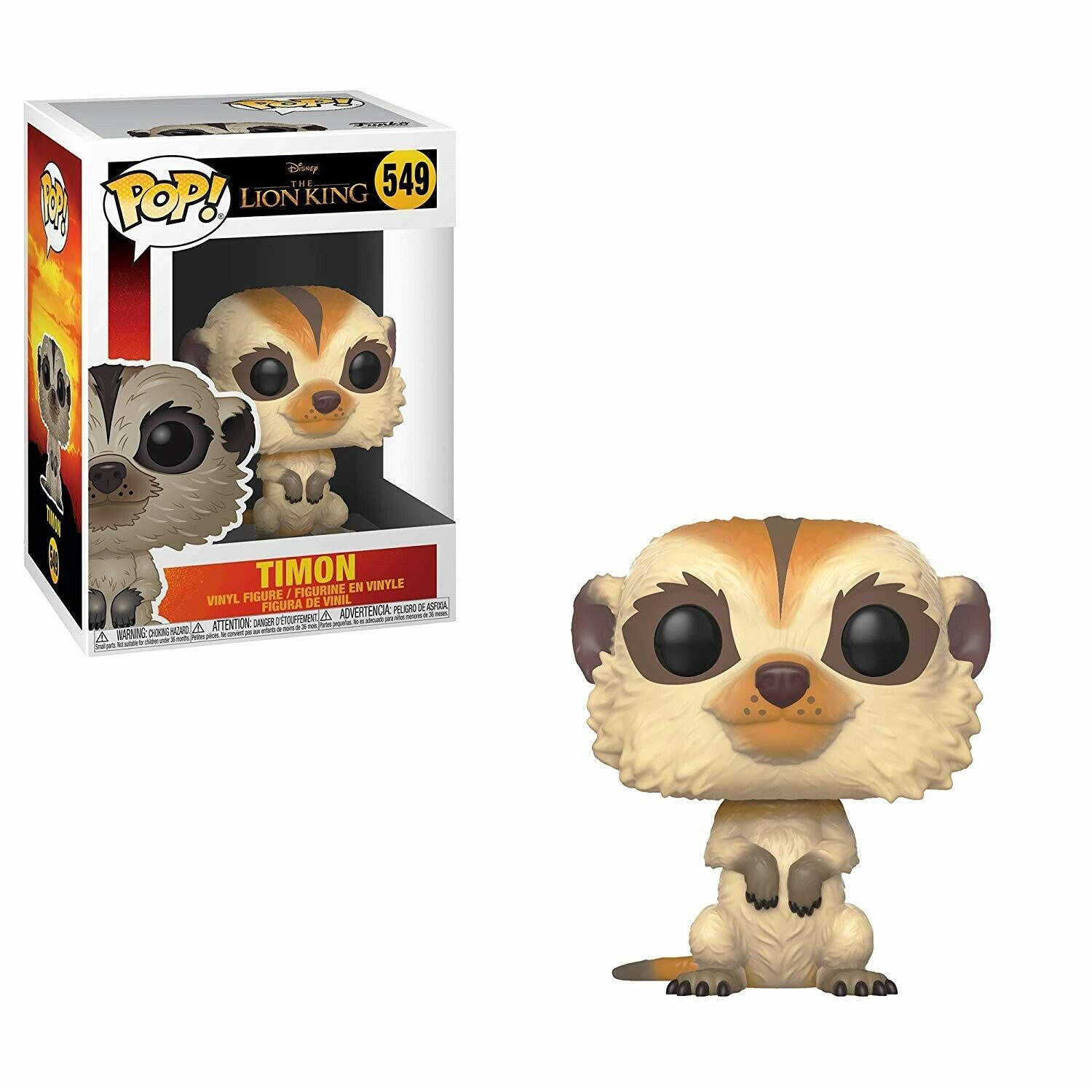 Figurina - Funko Pop! Disney - The Lion King: Timon thumbnail