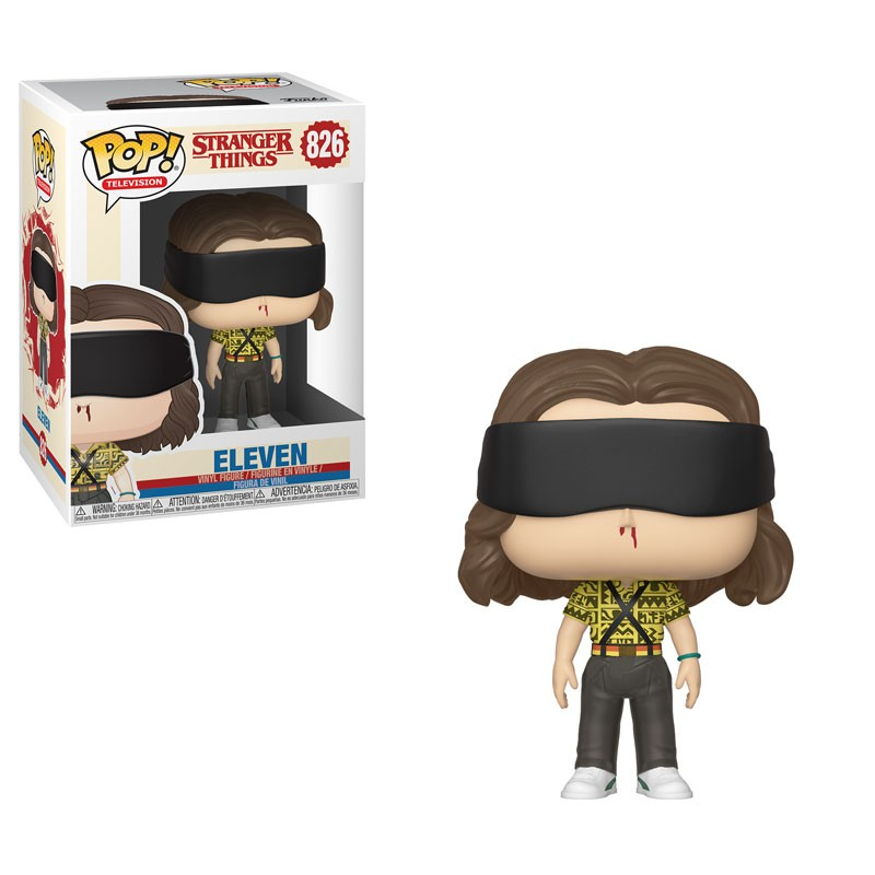 Figurina - Funko Pop! Stranger Things: Battle Eleven thumbnail