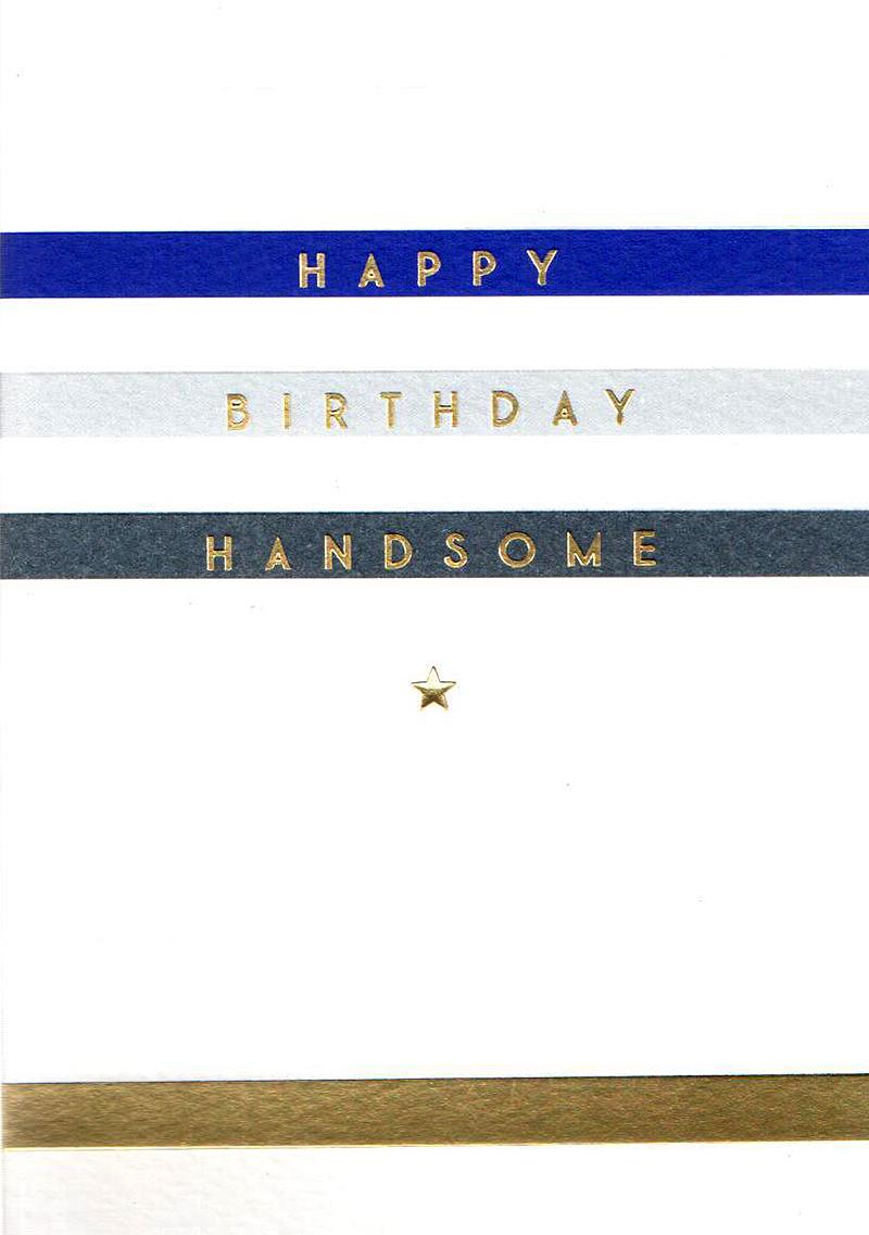 Felicitare - Happy Birthday Handsome thumbnail